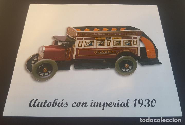 Juguetes antiguos de hojalata: PAYA autobus, completo con caja, llave, etc.. - Funcionando ! - Foto 12 - 173024007