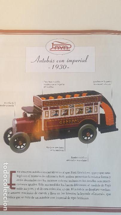 Juguetes antiguos de hojalata: PAYA autobus, completo con caja, llave, etc.. - Funcionando ! - Foto 13 - 173024007