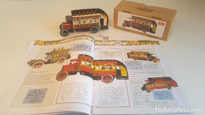 Juguetes antiguos de hojalata: PAYA autobus, completo con caja, llave, etc.. - Funcionando ! - Foto 15 - 173024007