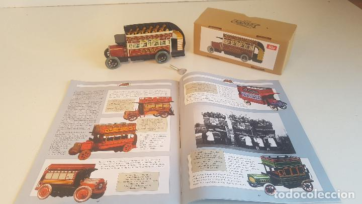 Juguetes antiguos de hojalata: PAYA autobus, completo con caja, llave, etc.. - Funcionando ! - Foto 16 - 173024007