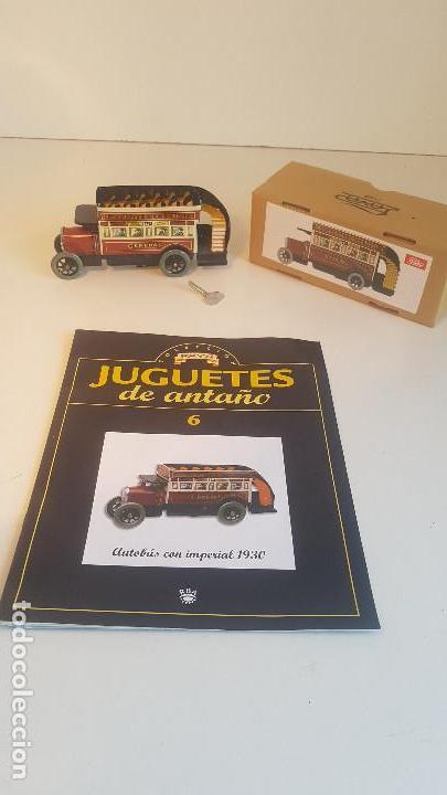 Juguetes antiguos de hojalata: PAYA autobus, completo con caja, llave, etc.. - Funcionando ! - Foto 17 - 173024007