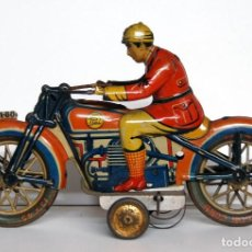 Juguetes antiguos de hojalata: PAYÁ Nº 804 ORIGINAL - MOTOCICLETA. Lote 140483506