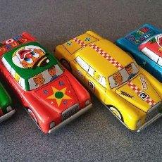 Juguetes antiguos de hojalata: COCHES HOJALATA PAYVA. Lote 140518430