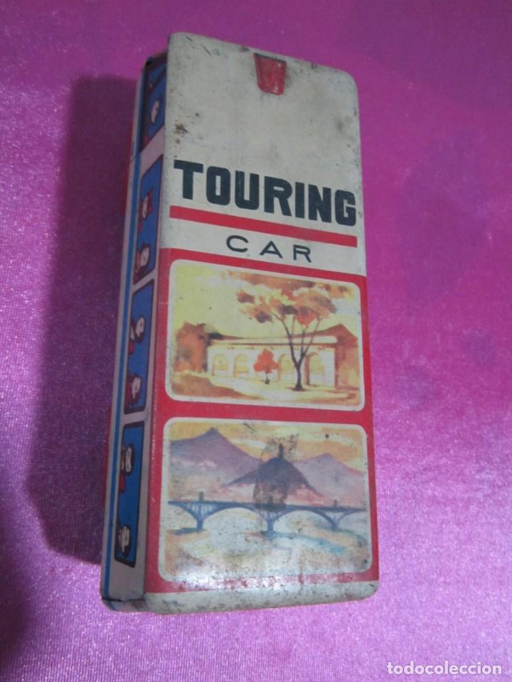 Juguetes antiguos de hojalata: AUTOBUS DE HOJALATA TOURING CAR - Foto 5 - 140555466