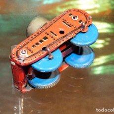 Juguetes antiguos de hojalata: TANQUE ANTIGUO DE SFA, PARIS, MIDE 7 CMS. DE LARGO. Lote 140644734