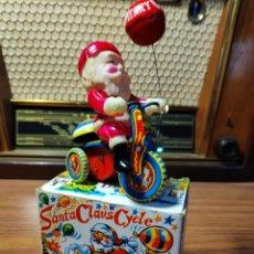 Juguetes antiguos de hojalata: SANTA CLAUS. PAPÁ NOEL. JUGUETE AÑOS 50. JAPON. Lote 140684174