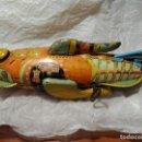 Juguetes antiguos de hojalata: ANTIGUA NAVE ESPACIAL HOJALATA AÑO 20 ORIGINAL LOUIS MARX & CO BUCK ROGERS COHETE SIMIL PAYA 1999,00. Lote 140923002