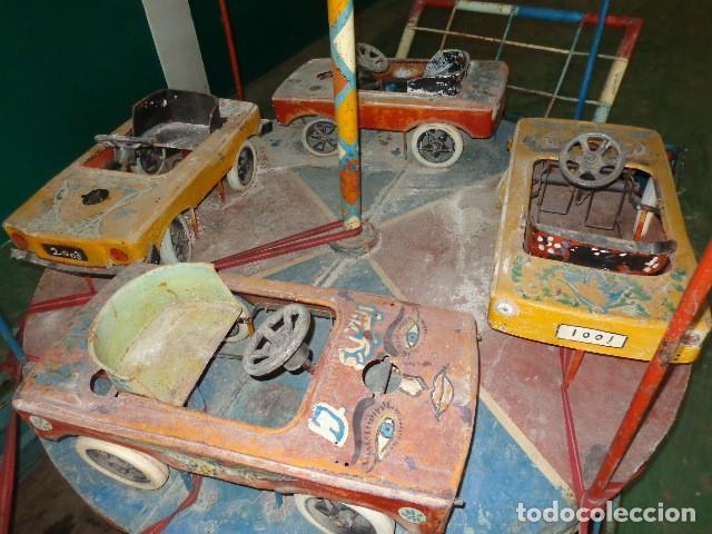 TIO VIVO CARRUSEL DE LOS AÑOS 40-50 (Juguetes - Juguetes Antiguos de Hojalata Españoles)