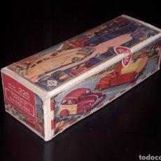 Juguetes antiguos de hojalata: CAJA VACÍA EMPTY BOX CAMIONETA TANQUE GASOLINA REF. 225, RICO IBI SPAIN. ORIGINAL AÑOS 40-50.. Lote 141471790