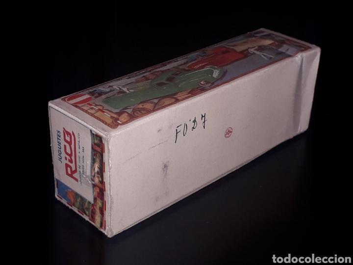 Juguetes antiguos de hojalata: Caja vacía empty box Camioneta tanque gasolina ref. 225, Rico Ibi Spain. Original años 40-50. - Foto 6 - 141471790