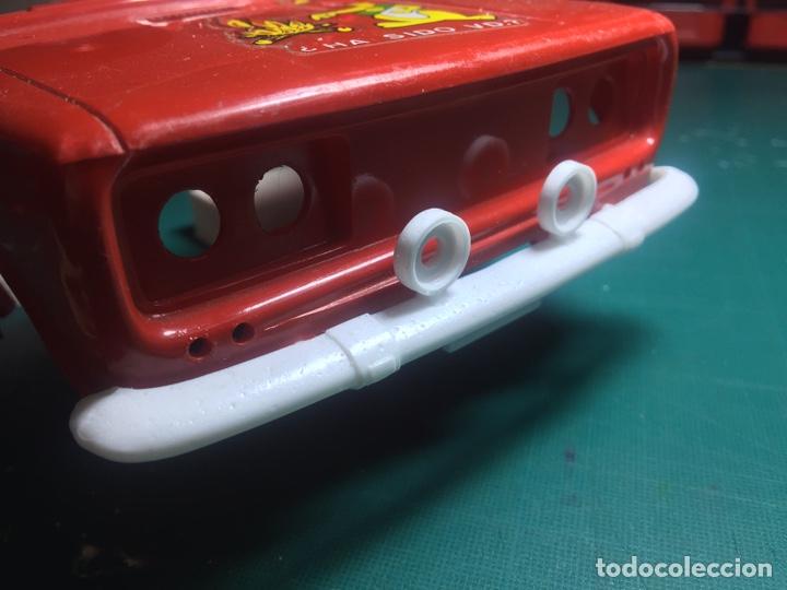 Juguetes antiguos de hojalata: Paragolpes delantero SEAT 1430 DE RICO (replica) - Foto 2 - 193872295