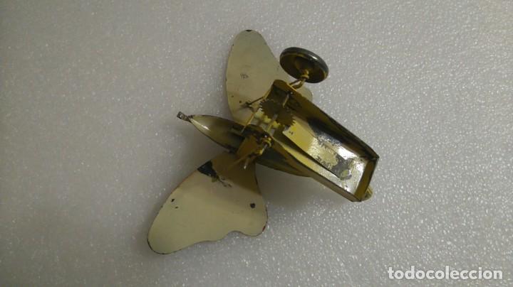 Juguetes antiguos de hojalata: Mariposa hojalata - Foto 3 - 142724642