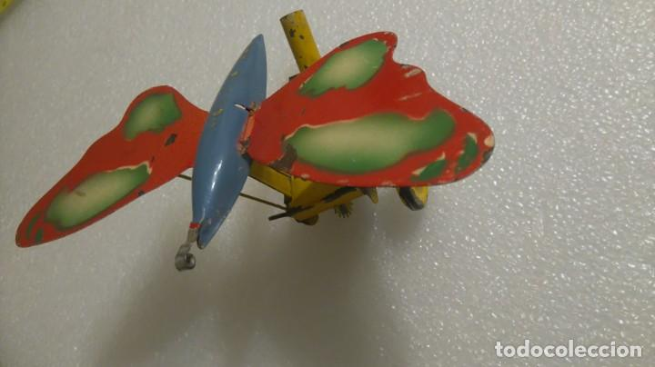Juguetes antiguos de hojalata: Mariposa hojalata - Foto 4 - 142724642