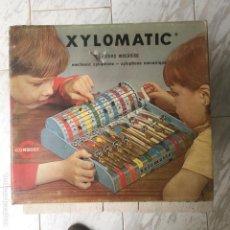 Jouets anciens en fer-blanc: XILOFONO MECÁNICO XYLOMATIC CONGOST AÑO 1970 (LEER DESCRIPCIÓN). Lote 142759602