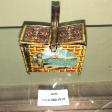 Juguetes antiguos de hojalata: CABAS DE HOJALATA PAYA. NO RICO NO JYESA. Lote 143028004