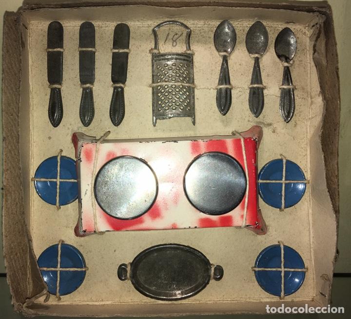 Juguetes antiguos de hojalata: Cocina de Hojalata Rico. No paya no Jyesa. Tin Toy Rico - Foto 2 - 143028776