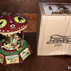 Juguetes antiguos de hojalata: TIO VIVO. Lote 143043602