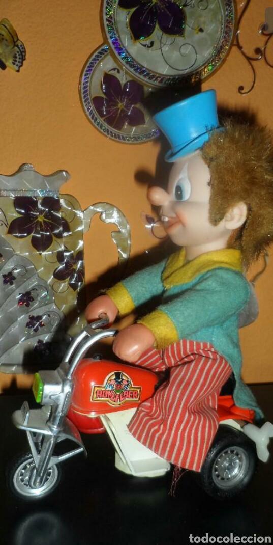 ANTIGUO PAYASO ROCKEFEBER (Juguetes - Juguetes Antiguos de Hojalata Españoles)