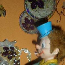 Juguetes antiguos de hojalata: ANTIGUO PAYASO ROCKEFEBER. Lote 143641221