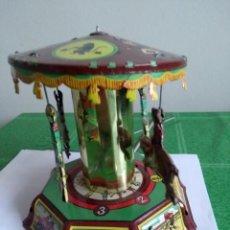 Juguetes antiguos de hojalata: TIO VIVO, REPRODUCCION DE PAYA. Lote 143791230