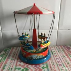 Tin Toys - Juguete tío vivo hojalata años 50 muy Antiguo ( FUNCIONA) - 143805966