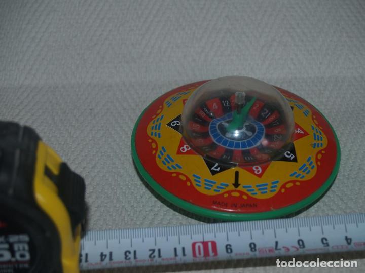 PLATILLO VOLANTE A FRICCION MADE IN JAPAN UFO (Juguetes - Juguetes Antiguos de Hojalata Extranjeros)