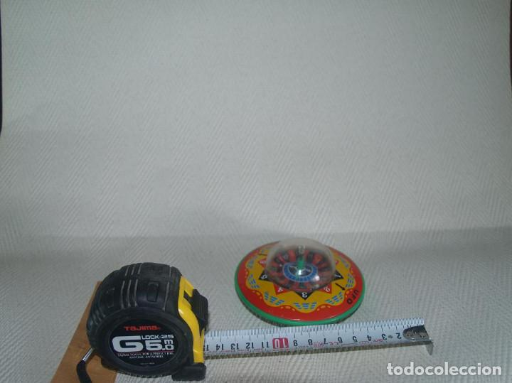 Juguetes antiguos de hojalata: PLATILLO VOLANTE A FRICCION MADE IN JAPAN UFO - Foto 4 - 144033694