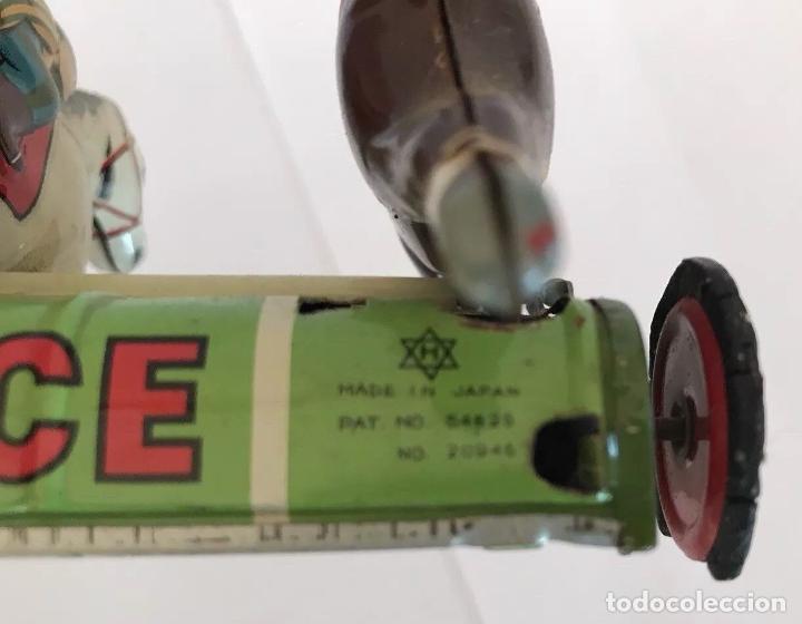 Juguetes antiguos de hojalata: MUY RARO LEER ANTIGÜO JUEGO CARRERAS DE CABALLOS HOJALATA MADE EN JAPON AÑOS 30 40 FIRMADO 800,00 € - Foto 7 - 144060638