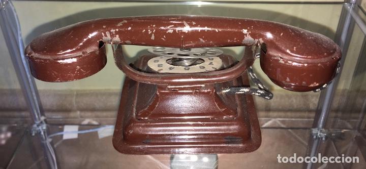 Juguetes antiguos de hojalata: Telefono de hojalata Rico. No paya no Jyesa - Foto 2 - 144554652
