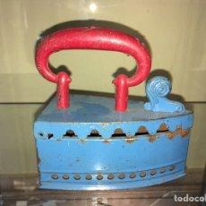 Juguetes antiguos de hojalata: PLANCHA DE HOJALATA RICO. NO PAYA NO JYESA. Lote 144554837