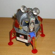 Juguetes antiguos de hojalata: ANTIGUO MODULO LUNAR APOLO DE LA NASA - AÑOS 60 - MARCA DSK JAPAN HOJALATA . Lote 145332786