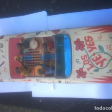 Juguetes antiguos de hojalata: FORD GALAXY RICO - LOS YE-YES- BEATLES-FUNCIONA. Lote 145988182