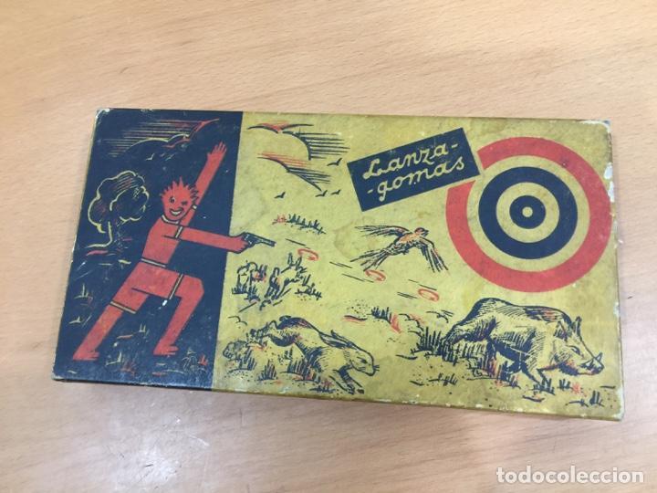 Juguetes antiguos de hojalata: DALIA SOLIDO PISTOLA LANZAGOMAS 1935 - Foto 11 - 146442194