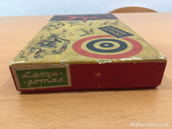Juguetes antiguos de hojalata: DALIA SOLIDO PISTOLA LANZAGOMAS 1935 - Foto 15 - 146442194