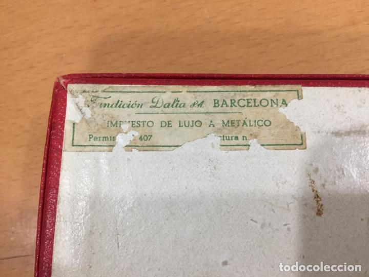 Juguetes antiguos de hojalata: DALIA SOLIDO PISTOLA LANZAGOMAS 1935 - Foto 17 - 146442194