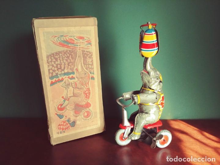 1950'S JUGUETE ANTIGUO HOJALATA NBN (Juguetes - Juguetes Antiguos de Hojalata Extranjeros)