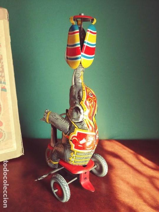 Juguetes antiguos de hojalata: 1950's Juguete Antiguo Hojalata NBN - Foto 3 - 147185150