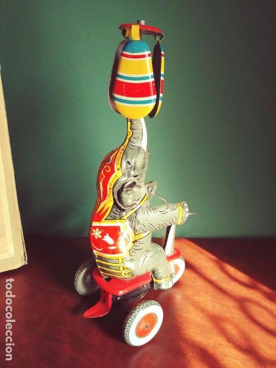 Juguetes antiguos de hojalata: 1950's Juguete Antiguo Hojalata NBN - Foto 4 - 147185150