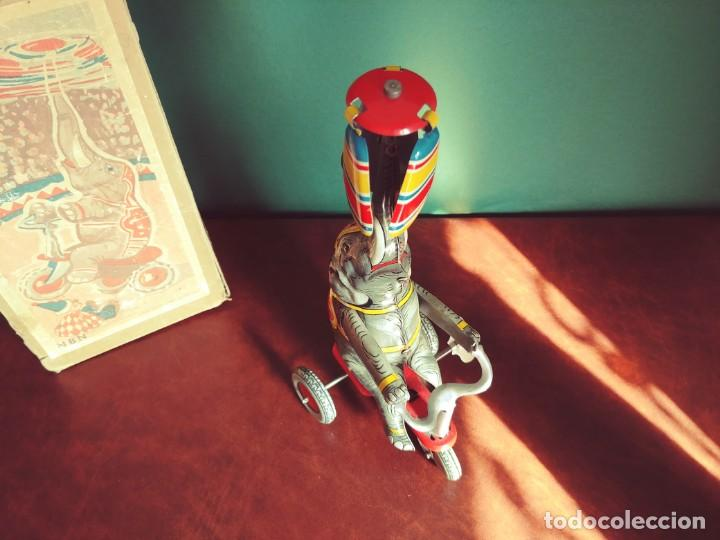 Juguetes antiguos de hojalata: 1950's Juguete Antiguo Hojalata NBN - Foto 6 - 147185150