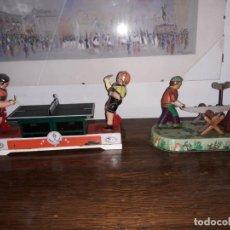 Juguetes antiguos de hojalata: JUGETES DE HOJALATA. Lote 147540682
