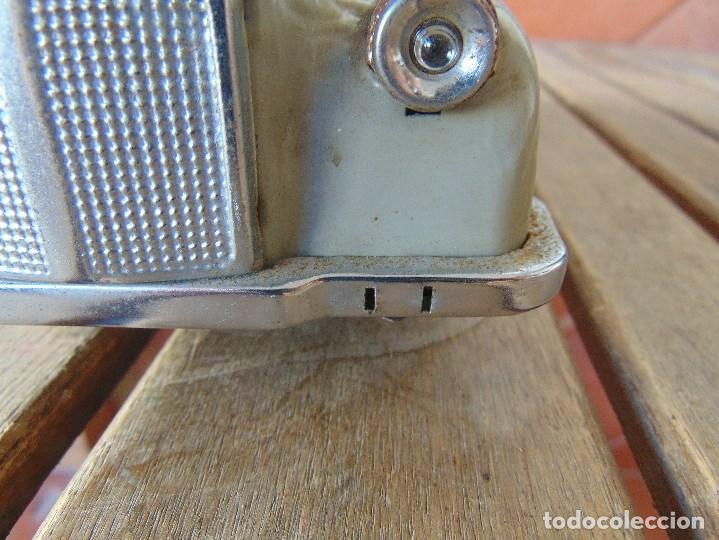 Juguetes antiguos de hojalata: ANTIGUO COCHE DE HOJALATA CHAPA SALVAOBSTACULOS TURISTAS NO SE LE VE MARCA CREO JAPONES - Foto 7 - 147901030