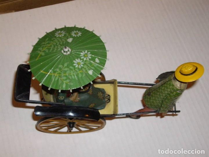 Juguetes antiguos de hojalata: IMPRESIONANTE LEHMANN MASUYAMA 1930 - Foto 3 - 147949990