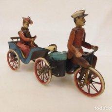 Juguetes antiguos de hojalata - ORIGINAL LEHMANN NANNI 1905 - 148383818