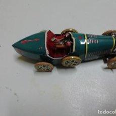Juguetes antiguos de hojalata: COCHE DE CUERDA EN HOJALATA MARCA PAYA. Lote 148636350