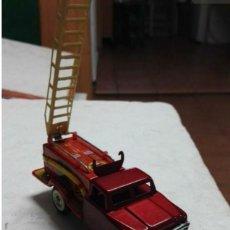 Tin Toys - Camión de bomberos hojalata antiguo - 149704238