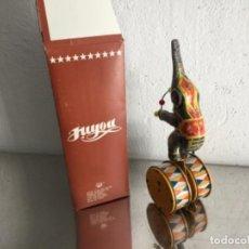 Juguetes antiguos de hojalata: ELEFANTE DE CIRCO DE CHAPA.. Lote 149974546