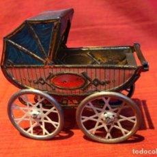Juguetes antiguos de hojalata: COCHECITO. R.S.A. IBI, FINAL DE LOS 20.. Lote 150130166