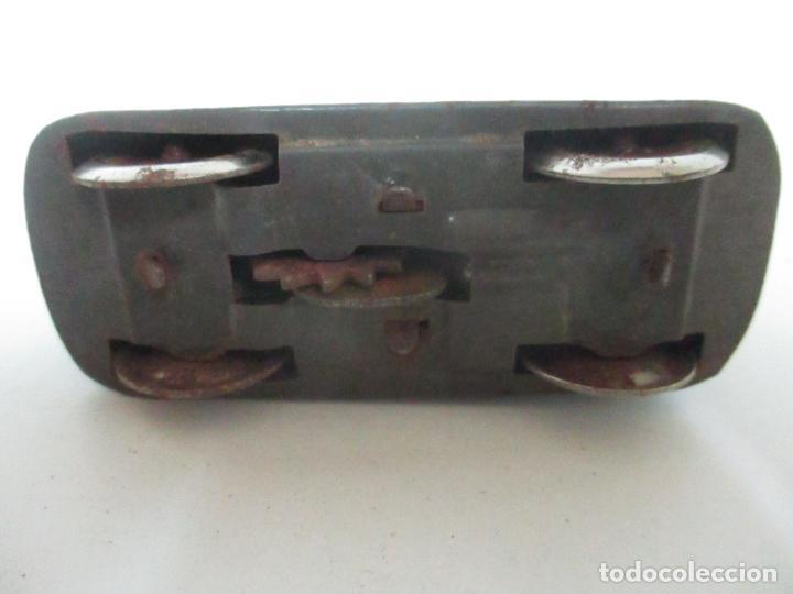 Juguetes antiguos de hojalata: Antiguo Coche de Hojalata a Cuerda - Bus, Coney Island Tecnhnofix - Western in Germany - Foto 7 - 150765958