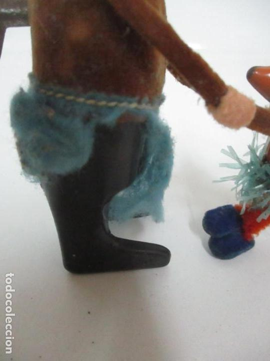 Juguetes antiguos de hojalata: Antiguo Juguete - Oso Bailando con Osito - Hojalata - Muñeco Autómata - Marca Schuco, Foreign - Foto 2 - 150796258