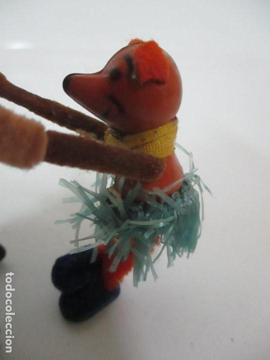 Juguetes antiguos de hojalata: Antiguo Juguete - Oso Bailando con Osito - Hojalata - Muñeco Autómata - Marca Schuco, Foreign - Foto 4 - 150796258